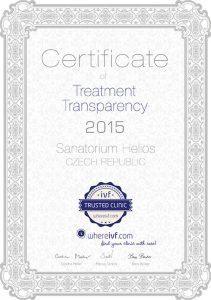 Certificate of Treatment Transparency